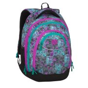 BAGMASTER ENERGY 9 C VIOLET/GREEN/GRAY